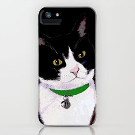 Tuxedo Cat iPhone Case