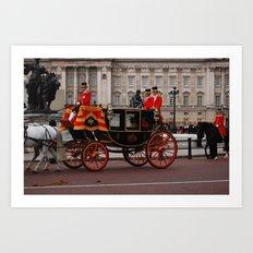 The Royal Carriage 9 Art Print
