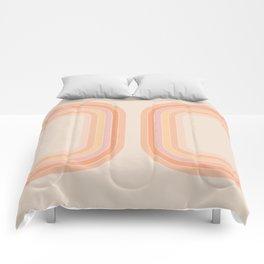 Tangerine Tunnel Comforters