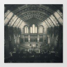 London - Natural History Museum Canvas Print