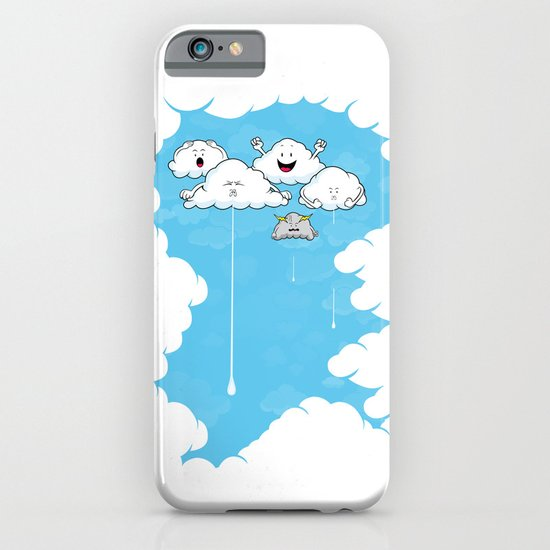 Young Clouds fooling around iPhone & iPod Case