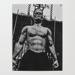 It's Alive Frankenstein Poster
