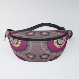 Central Asian Pattern Fanny Pack