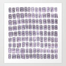 rhinestones 4b Art Print