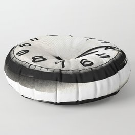 Four Nineteen Clock Floor Pillow
