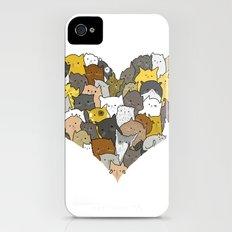 I Love Cats Slim Case iPhone (4, 4s)