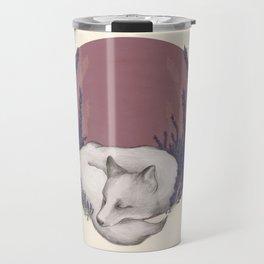 Fox & Lavender Travel Mug