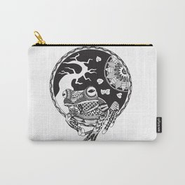 Zentanlged Frog Carry-All Pouch