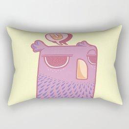 """""""U"""" Rectangular Pillow"""