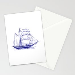 Sailing Ships Stationery Cards