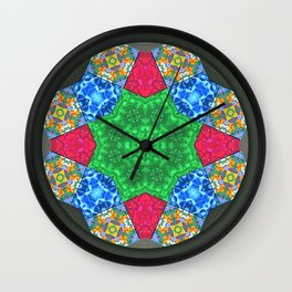 Master Mandala for Achieving Self Control Wall Clock