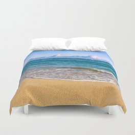 Morning on Maui's North Shore Duvet Cover