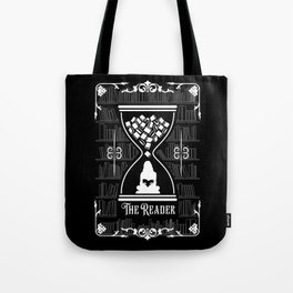 The Reader Tarot Card Tote Bag