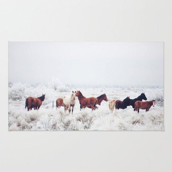 Winter Horseland Rug