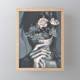 inner garden Framed Mini Art Print