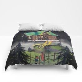 The mole and Baba Yaga Comforters