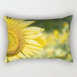 The Color of Sunflowers Rectangular Pillow