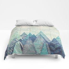 Mountain Crash Comforters