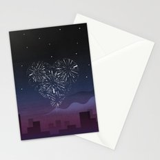 When I first saw you Stationery Cards