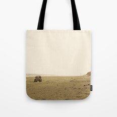 Montauk Beach Jeep Tote Bag