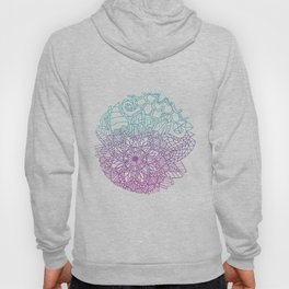 Equanimity / Circle / Pink Blue Hoody