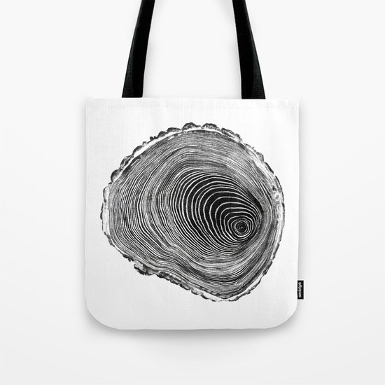 wood cut Tote Bag
