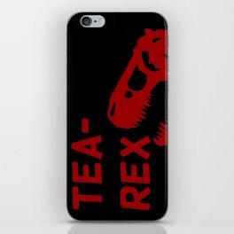 Tea-Rex iPhone Skin