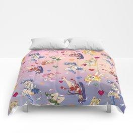 Chibi Super Inner Pattern Comforters