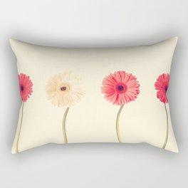 Technicolour Flowers  Rectangular Pillow