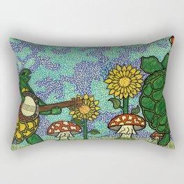 Terrapin Turtles Rectangular Pillow