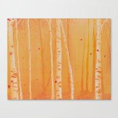 The Heat of Autumn Canvas Print