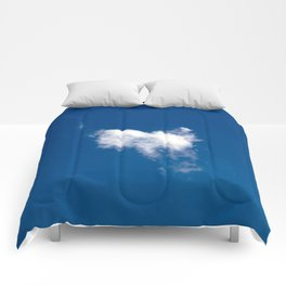 Clound in the sky Comforters
