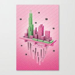 Starseed Chicago Canvas Print