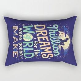 A Million Dreams Rectangular Pillow