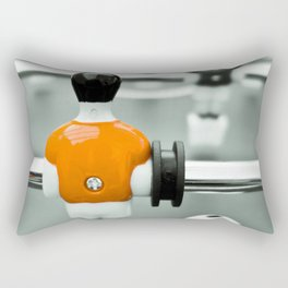 Table Football 02B - Defender - Orange (everyday 30.01.2017) Rectangular Pillow