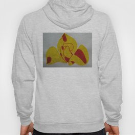 Handmade drawing of fllower Hoody