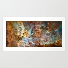 Carina Nebula, Star Birth in the Extreme - High Quality Image Art Print