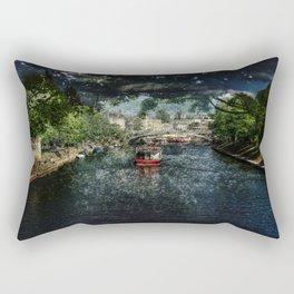 Spring - River Ouse, York Rectangular Pillow
