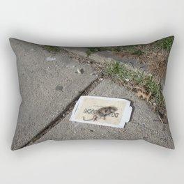 Do Not Touch Rectangular Pillow