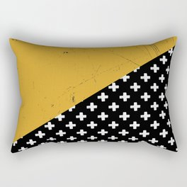 Swiss crosses (grunge) Rectangular Pillow