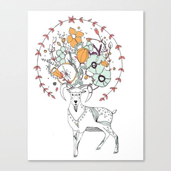 like a halo around your head Canvas Print