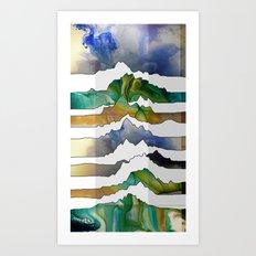 Mountain Madness Art Print