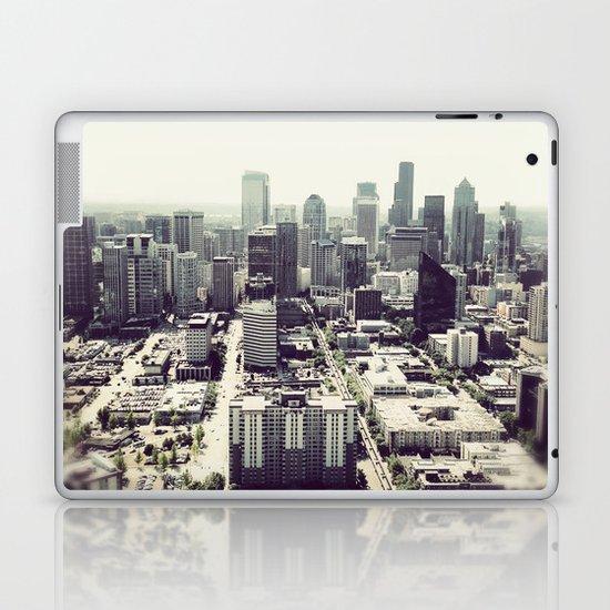downtown seattle Laptop & iPad Skin