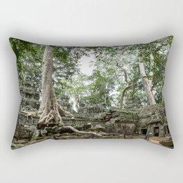 Ta Phrom, Angkor Archaeological Park, Siem Reap, Cambodia Rectangular Pillow