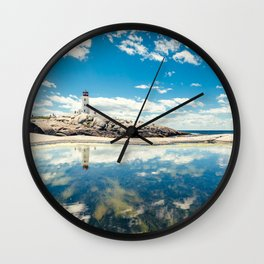 Lighthouse Day Wall Clock
