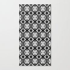 Black and White 2 Canvas Print