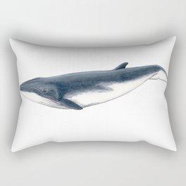 Bryde´s baby whale (Balaenoptera brydei) Rectangular Pillow