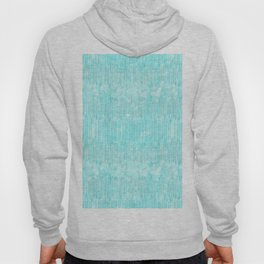 Abstract modern teal white watercolor brushstrokes pattern Hoody