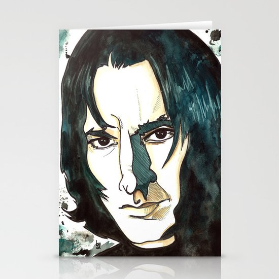 Professer Snape Stationery Cards