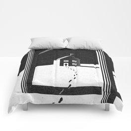 Walking Home/Deposit NY Comforters